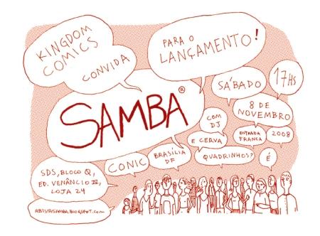 Lançamento Samba