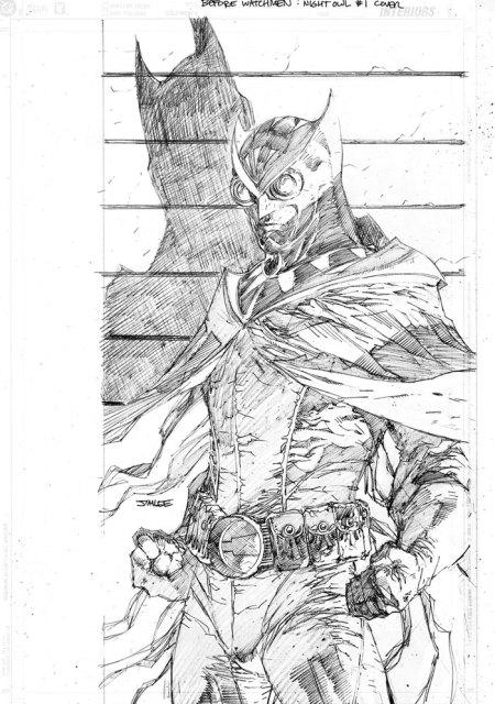 Arte de Jim Lee para Before Watchmen - Pura inspiração...